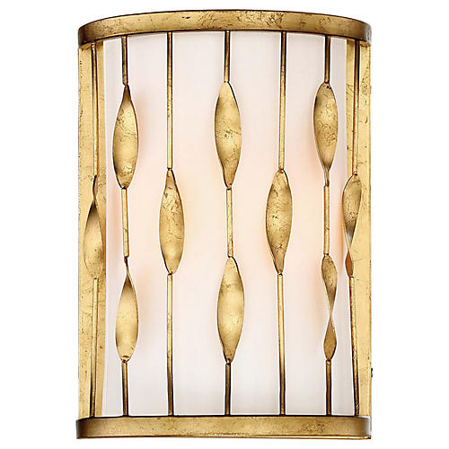 Olivetas Sconce, Terrace Gold