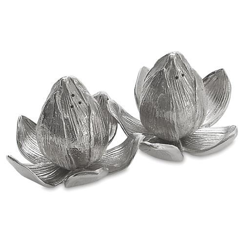 Lotus & Lily Salt & Pepper Set