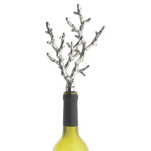Ocean Coral Wine Bottle Stopper