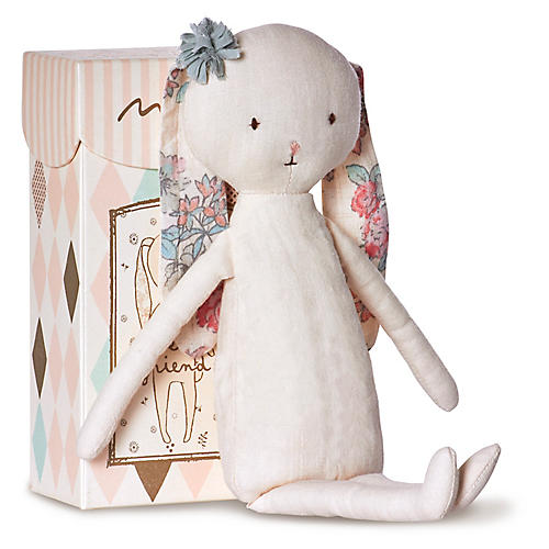 Best Friends Rabbit Plushy, White/Multi