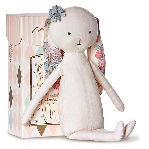 Best Friends Rabbit Plushy, White/Multi