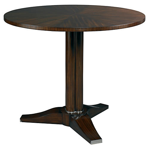 Cluster Column Side Table, Mahogany