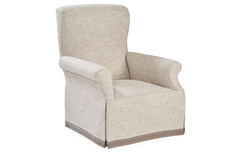 Gatsby Club Chair, Gray