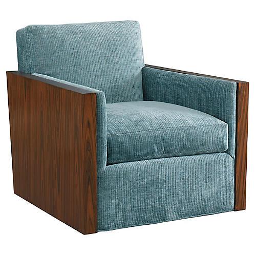 Manderley Club Chair, Blue
