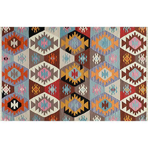 Domnica Flat-Weave Rug, Multi