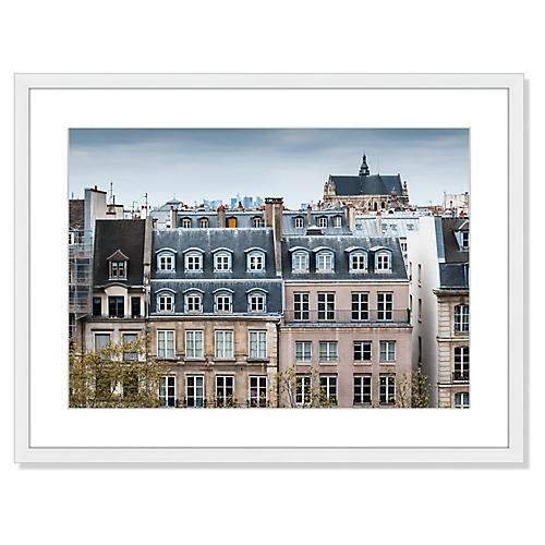 , Traditional Buildings in Paris