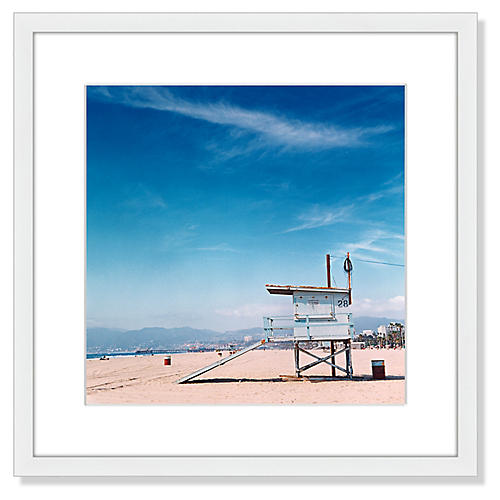 Jon Shireman, Venice Beach Lifeguard Station