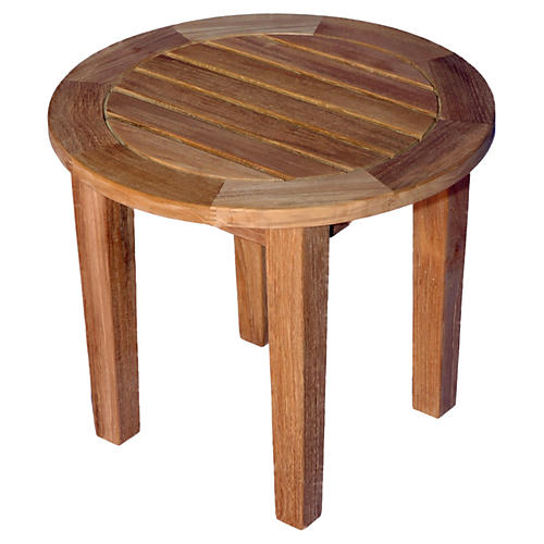 "Teak 19""Dia Round Table"