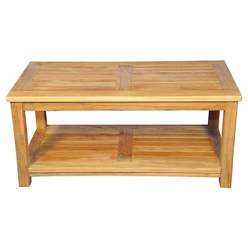 "Teak Orleans 40"" Coffee Table"