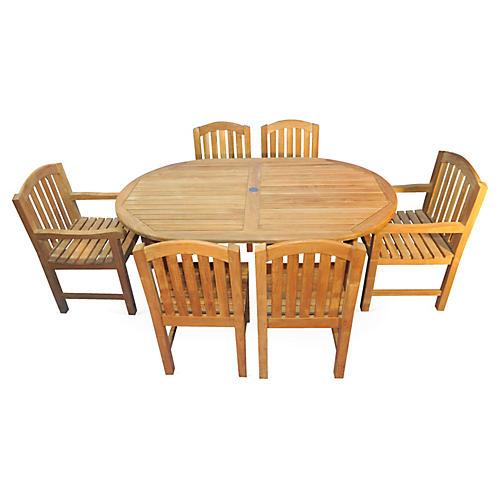 Hampton Teak Dining Set