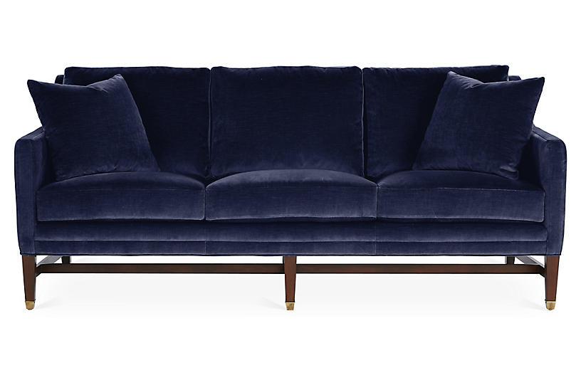 Arden Sofa, Lapis Velvet