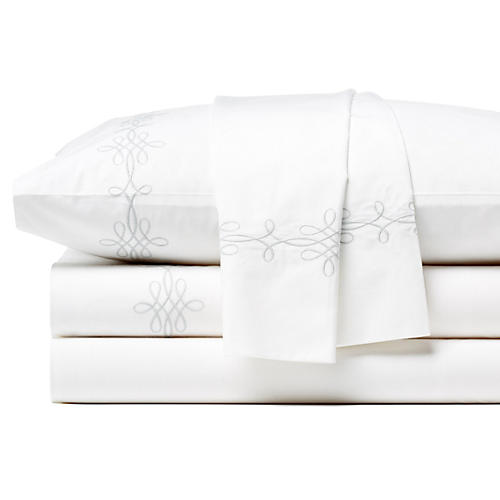 Bernini Sheet Set, Silver