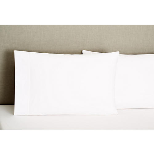 S/2 Standard Vittorio Pillowcases, White