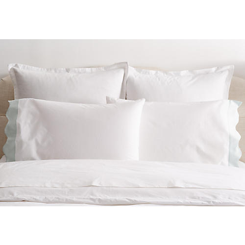 S/2 Katarina Standard Pillowcases, Opal