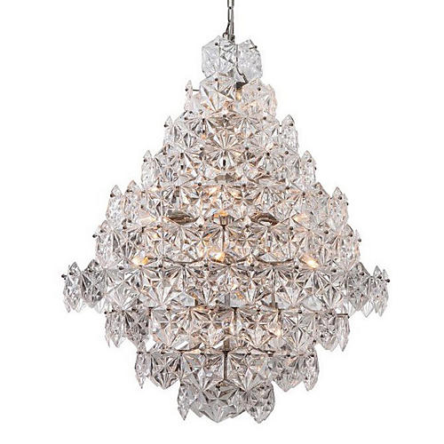 Overture Grand Chandelier, Nickel