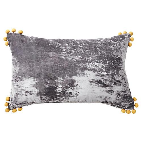 Omni 14x22 Lumbar Pillow, Gray