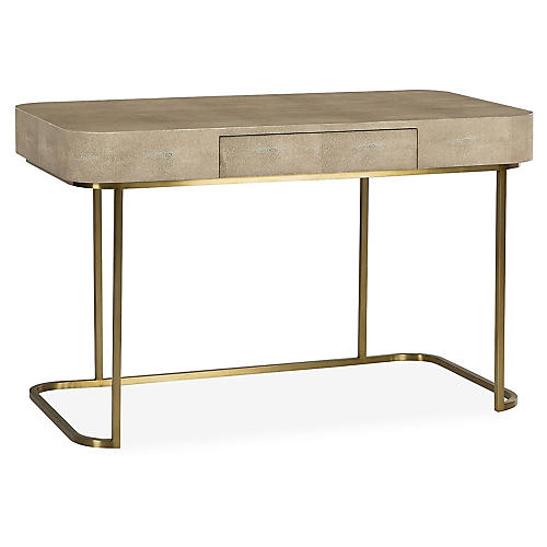 Jacques Writing Desk, Beige