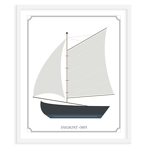 ModernPOP, Sailboat Sails, Mini