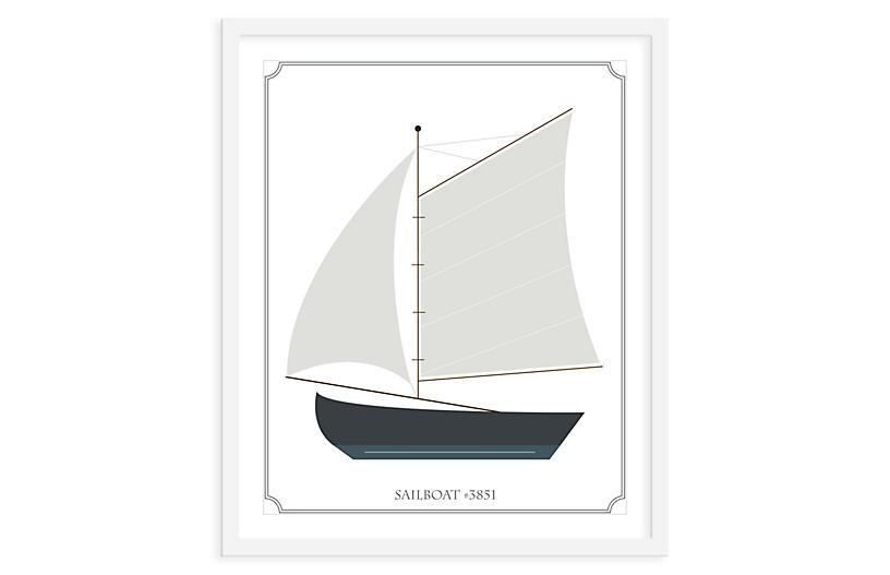 ModernPOP, Sailboat Sails, Mini