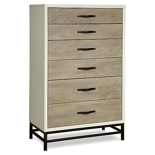 Spencer Tall Dresser, Driftwood