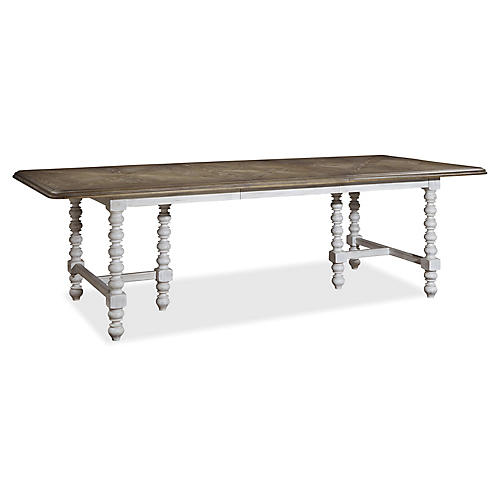 "Cora 80""-104"" Extension Dining Table"