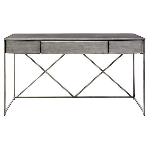 "Harper 56"" Desk, Graywash"