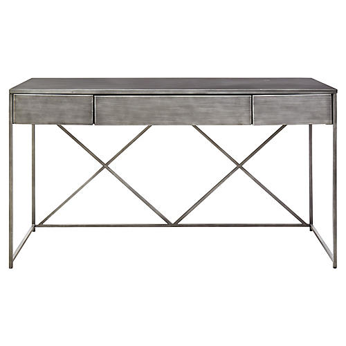 Gilmore Desk, Graywash