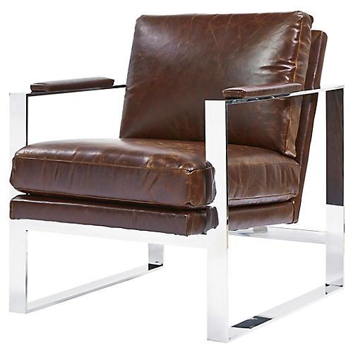 Corbin Accent Chair, Espresso