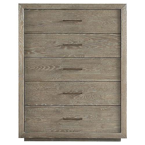 Wilshire Tall Dresser, Graywash