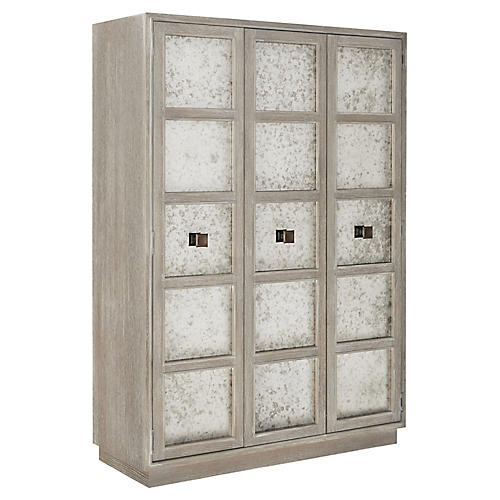 Ensemble Armoire, Smoke Gray