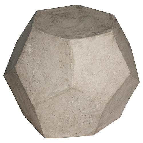 Geometry Stool, Graphite