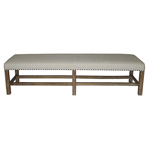 Sweden Bench, Gray Wash