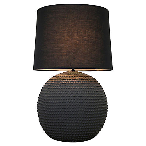 Urchin Table Lamp, Dark Gray