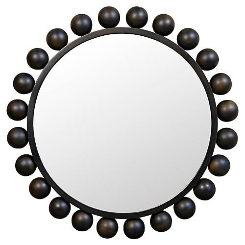 "Cooper 33"" Mirror, Black"