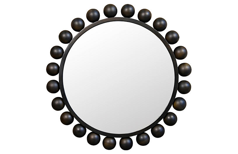 Cooper Mirror, Black