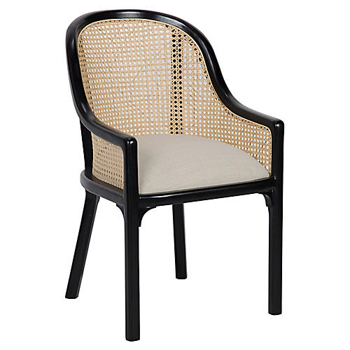 Gaston Armchair, Black