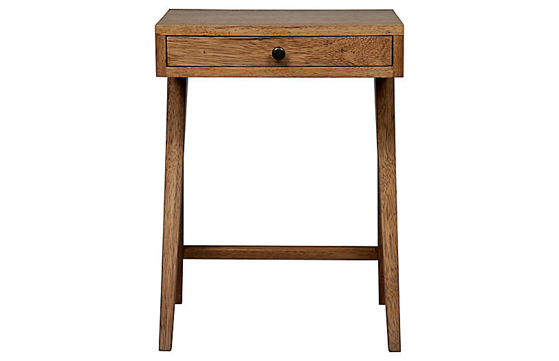 Peter Nightstand, Dark Walnut