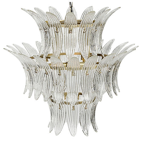 King Chandelier, Brass