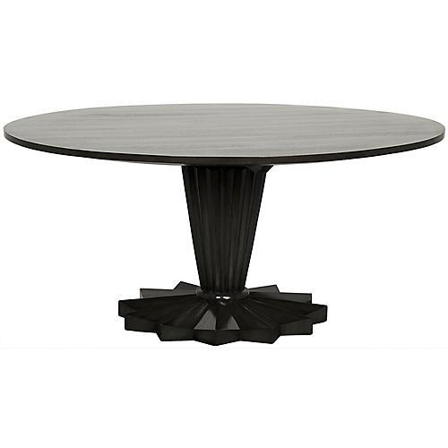 Apostel Dining Table, Espresso