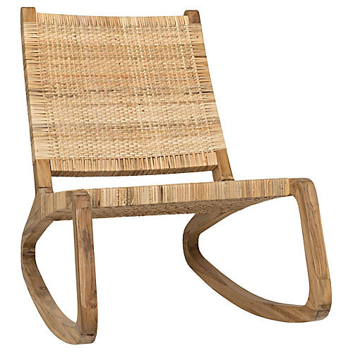 Las Palmas Accent Chair, Teak
