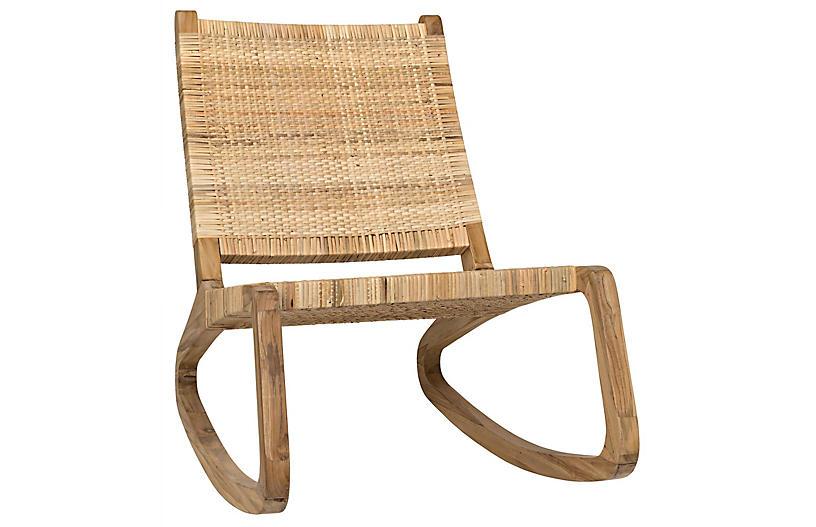Las Palmas Accent Chair, Teak
