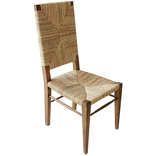 Neva Side Chair, Teak