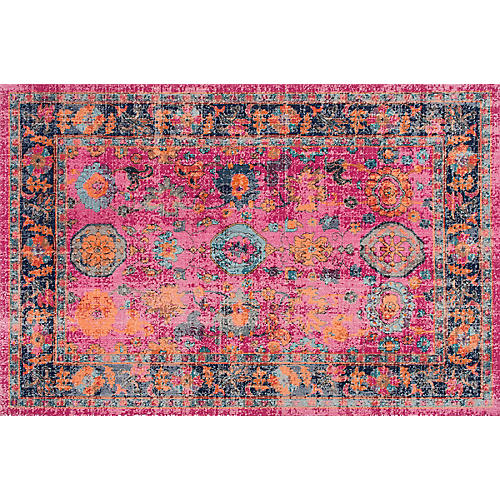 Woodhaven Rug, Pink