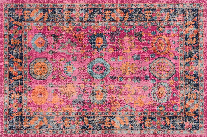 Woodhaven Rug, Pink - Rugs Under $400 - Affordable Finds - Sale ...