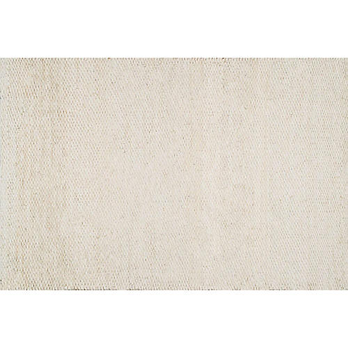 Libby Jute Rug, Bleached