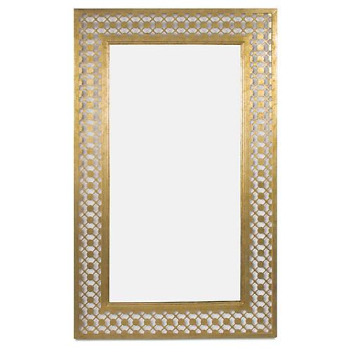 Cielo Mirror, Gold Leaf