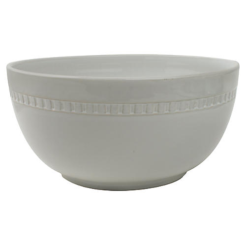 Ciara Serving Bowl, Gray