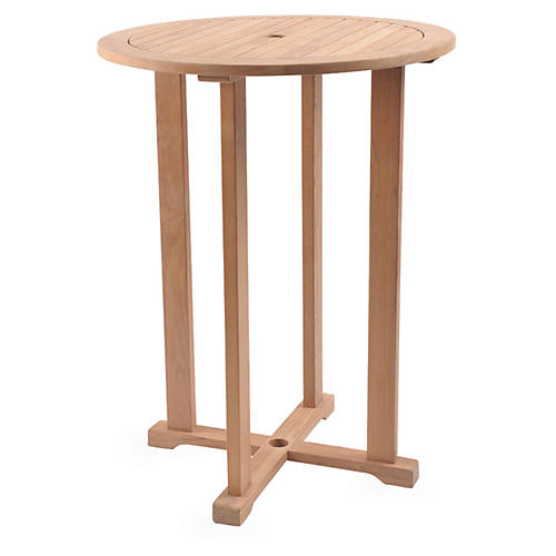 Palm Teak Bar Table