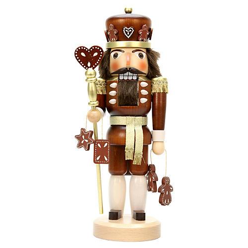 """15"""" Gingerbread King Nutcracker"""