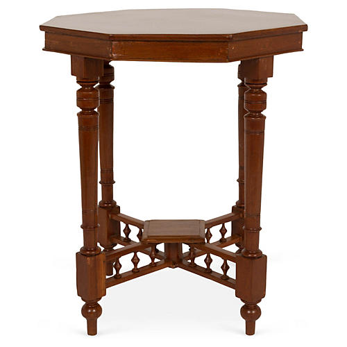 Octagonal Teak Wood Table